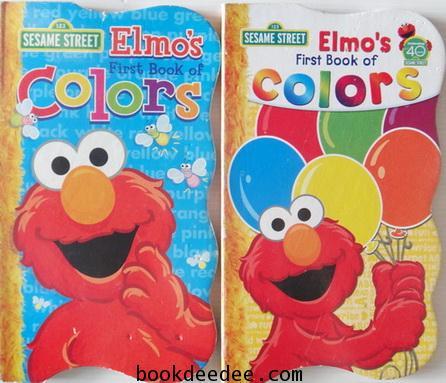 หนังสือภาพเด็ก บอร์ดบุ๊ค Elmo First Book of Color