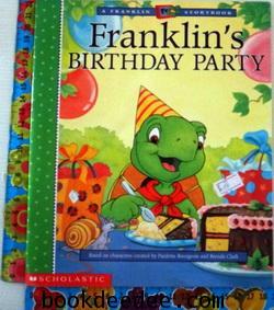 หนังสือเด็ก Franklin Birthday Party