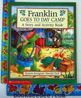 หนังสือเด็ก Franklin goes to day camp