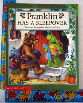 หนังสือเด็ก Franklin has a sleepover