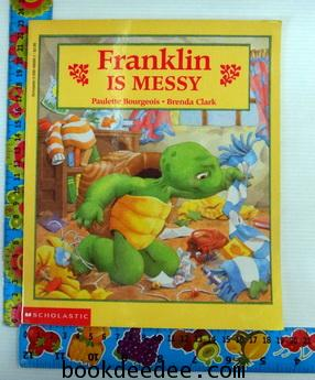หนังสือเด็ก Franklin is messy