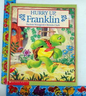 หนังสือเด็ก Franklin Hurry up Franklin