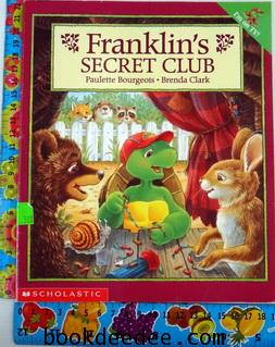 หนังสือเด็ก Franklin secret club
