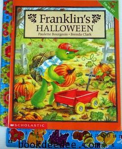 หนังสือเด็ก Franklin halloween