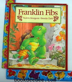 หนังสือเด็กนิทานเด็ก Franklin Fibs