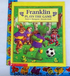 หนังสือเด็ก Franklin Plays the Game