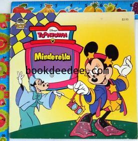 นิทานเด็กภาษาอังกฤษ Disney mickey:Minderella