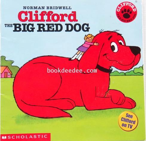 นิทานภาษาอังกฤษ ปกอ่อน Clifford The Big Red Dog