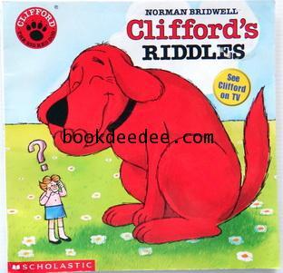 นิทานเด็กภาษาอังกฤษ ปกอ่อน Clifford Riddles