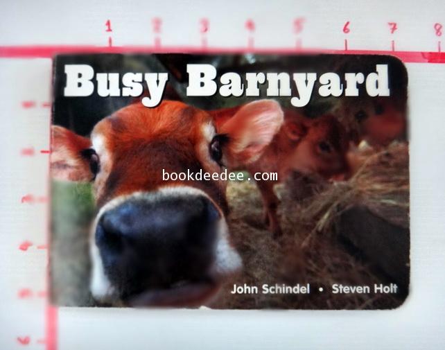 หนังสือเด็ก Busy Barnyard