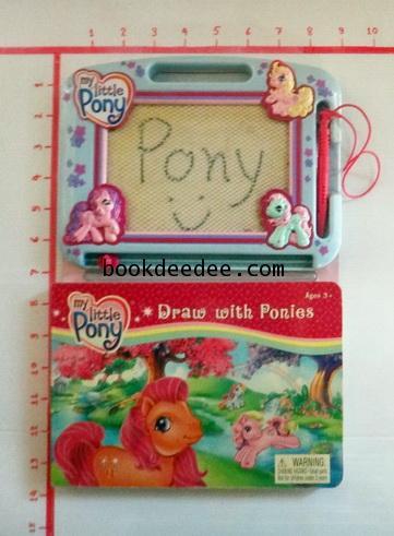 หนังสือเด็ก บอร์ดบุ๊ค มีกระดานวาดรูป