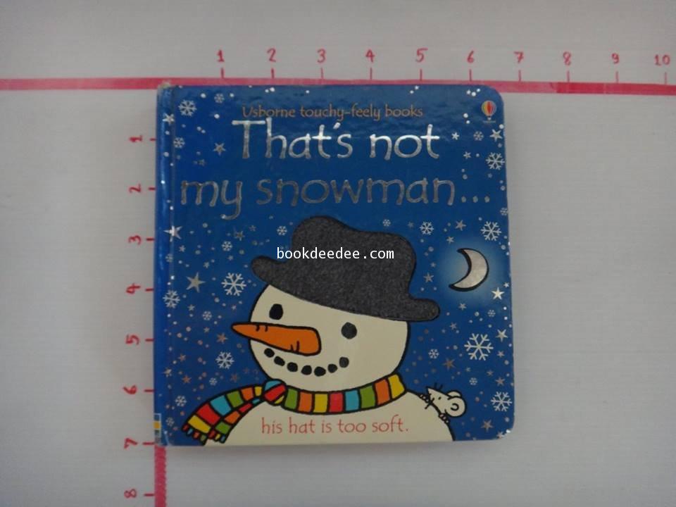 นิทานภาพThat\'s not my snowman