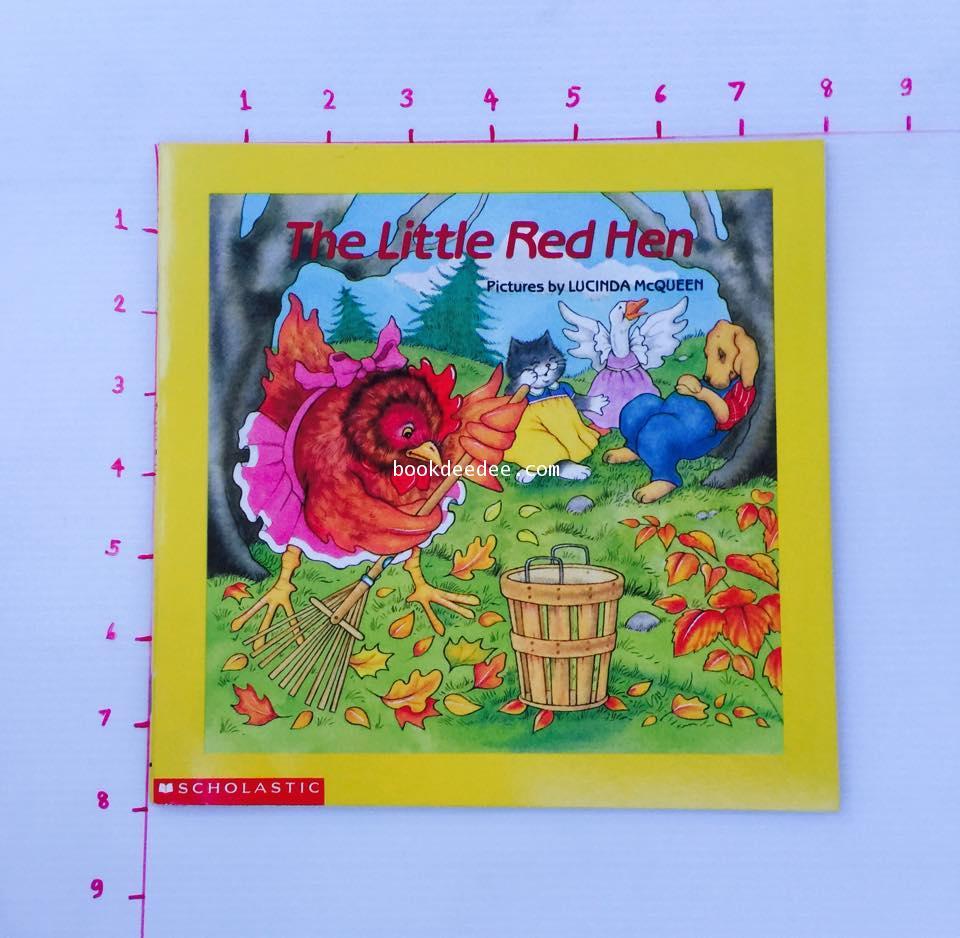นิทานเด็ก ภาษาอังกฤษ ปกอ่อน The Little Red Hen