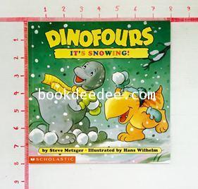 นิทานเด็ก Dinofour It s Snowing