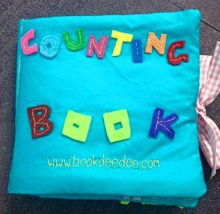 หนังสือผ้า ฝึกทักษะการนับเลข COUNTING BOOK