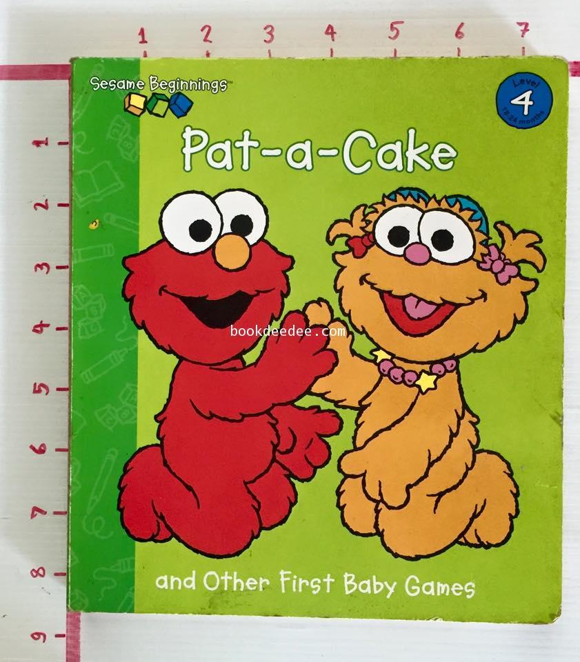 หนังสือเพลงคำกลอน Pat a Cake