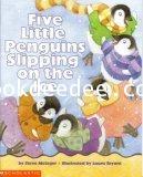 หนังสือเด็ก Five little penguins slipping on the ice