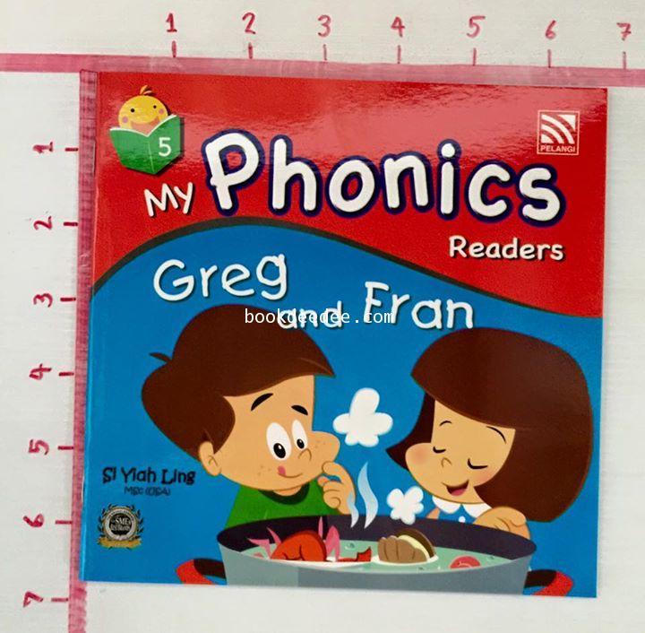 หนังสือเด็ก My Phonics Readers No5.Greg and Fran