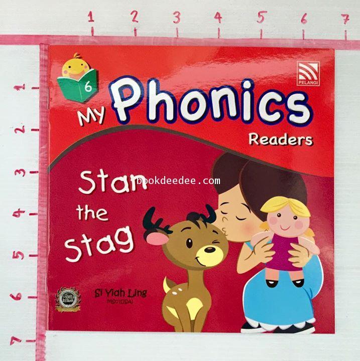 หนังสือเด็ก My Phonics Readers No6. Stan the Stag