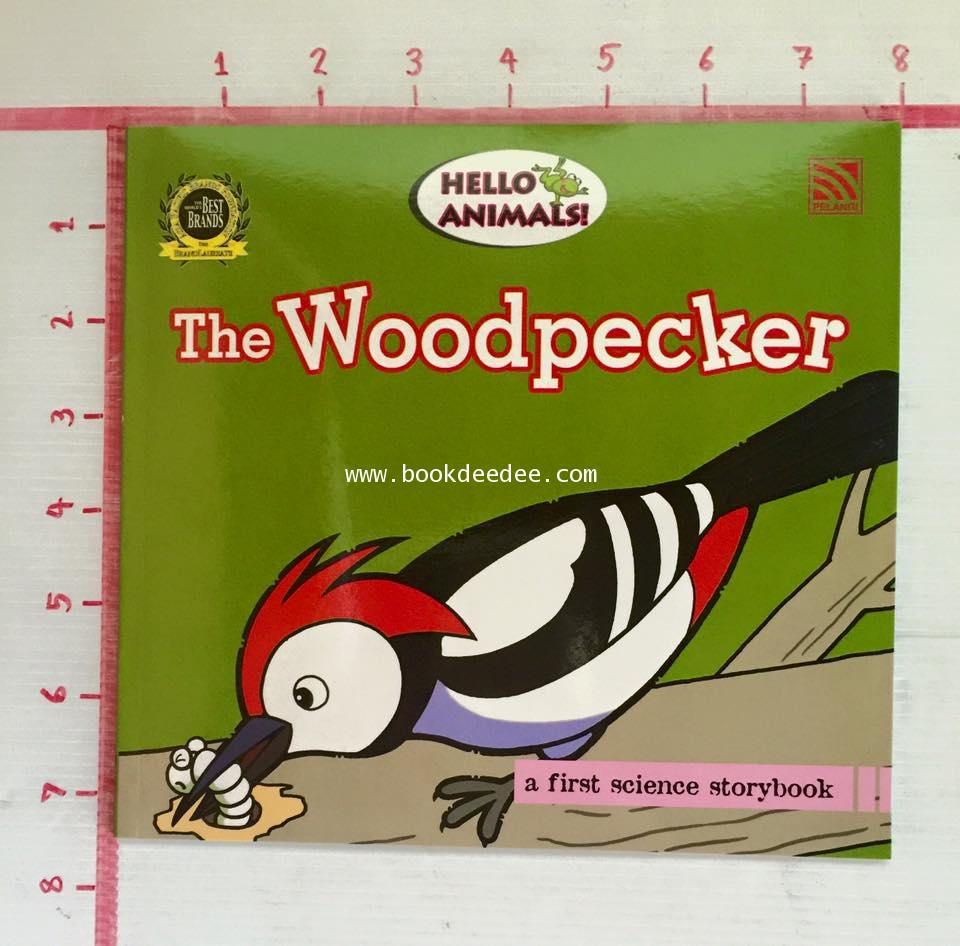 นิทานเด็กเรียนรู้วิทยาศาสตร์ Hello Animal 13 The Woodpecker
