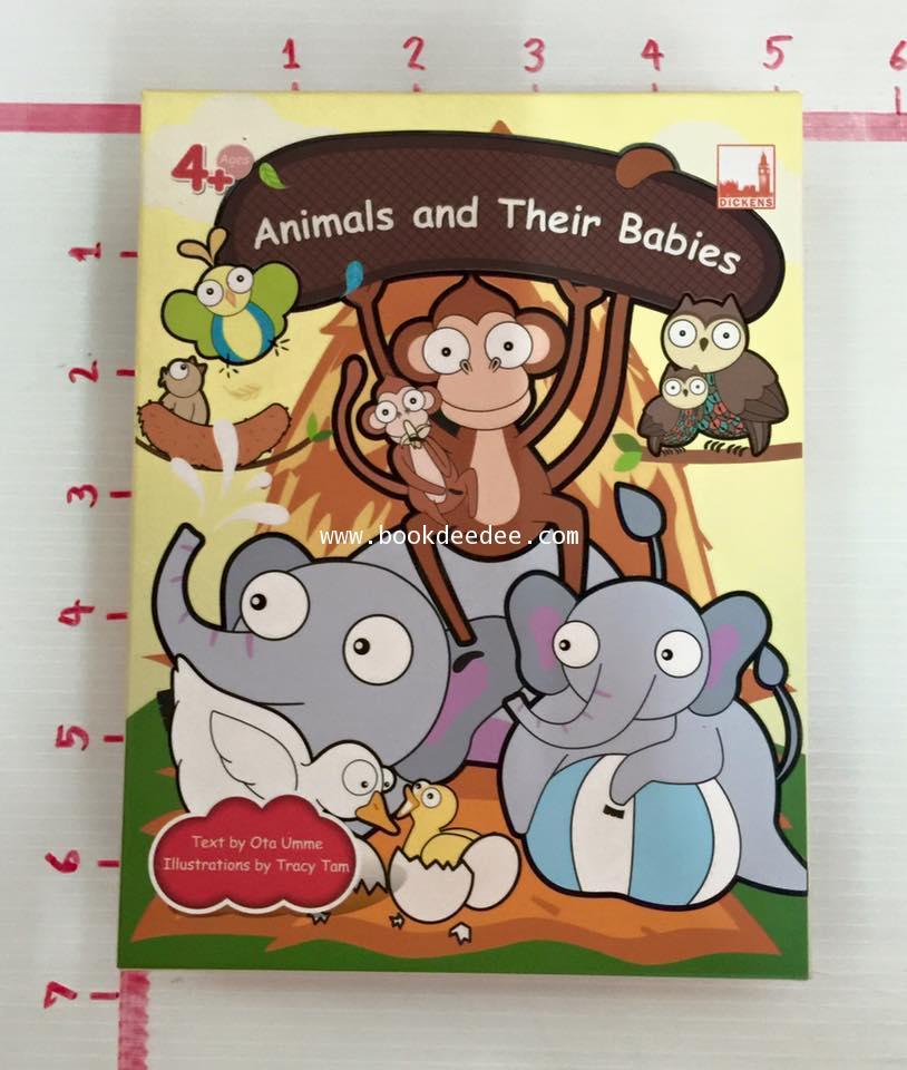 ชุดเกมส์ คำศัพท์ Animals and Their Babies
