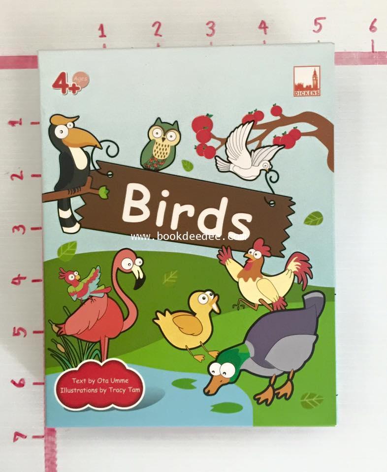 ชุดเกมส์ คำศัพท์ Birds
