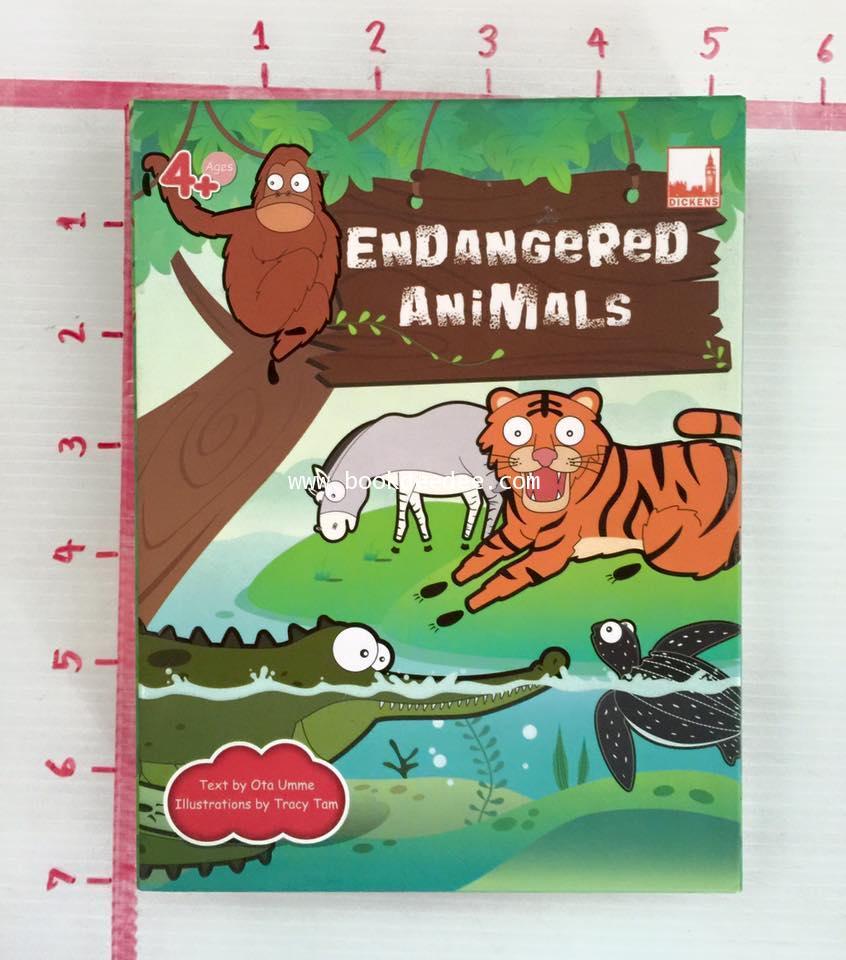 ชุดเกมส์ คำศัพท์ Endangered Animals