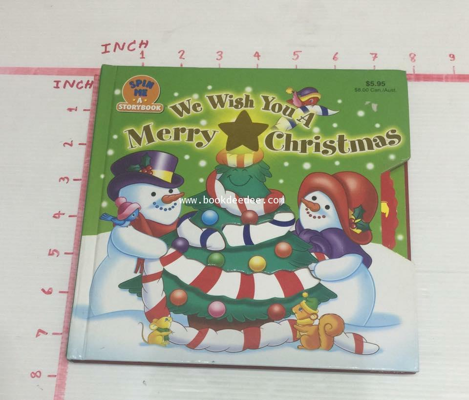 หนังสือเด็ก We wish You a Merry Christmas