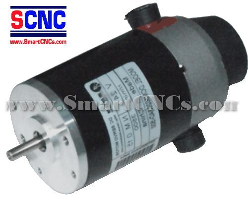 ดีซีเซอร์โวมอเตอร์ รุ่น DCM50202A 120W,3500 rpm,Rate Torque 0.15 N.m-0.76 N.m