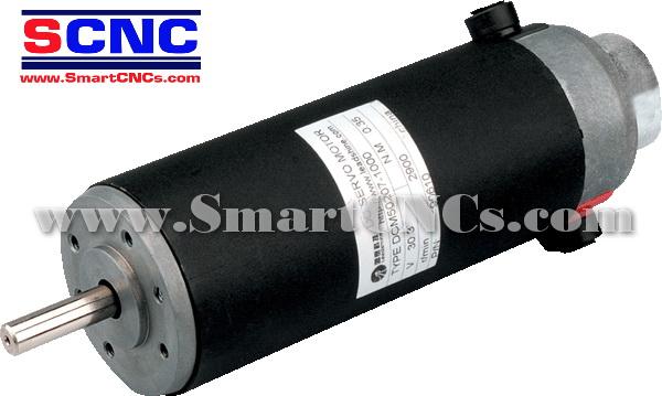 ดีซีเซอร์โวมอเตอร์ รุ่น DCM57207 120W,2900 rpm,Rate Torque 0.35 N.m-2.29 N.m