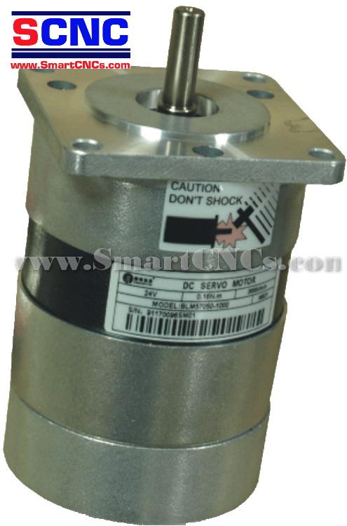 ดีซีเซอร์โวมอเตอร์ไร้แปลงถ่าน รุ่น BLM57025 25W,3000 rpm,Rate Torque 0.08 N.m-0.24 N.m