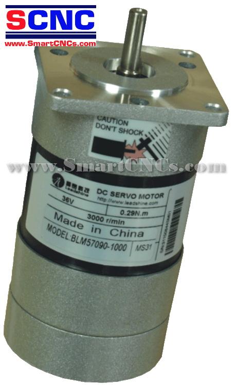 ดีซีเซอร์โวมอเตอร์ไร้แปลงถ่าน รุ่น BLM57090 90W,3000 rpm,Rate Torque 0.29 N.m-0.87 N.m