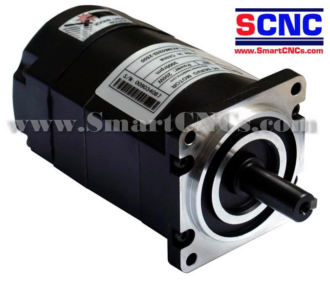เอซีเซอร์โวมอเตอร์ รุ่น ACM602V60  200W,3000 rpm,Rate Torque 1.91 N.m