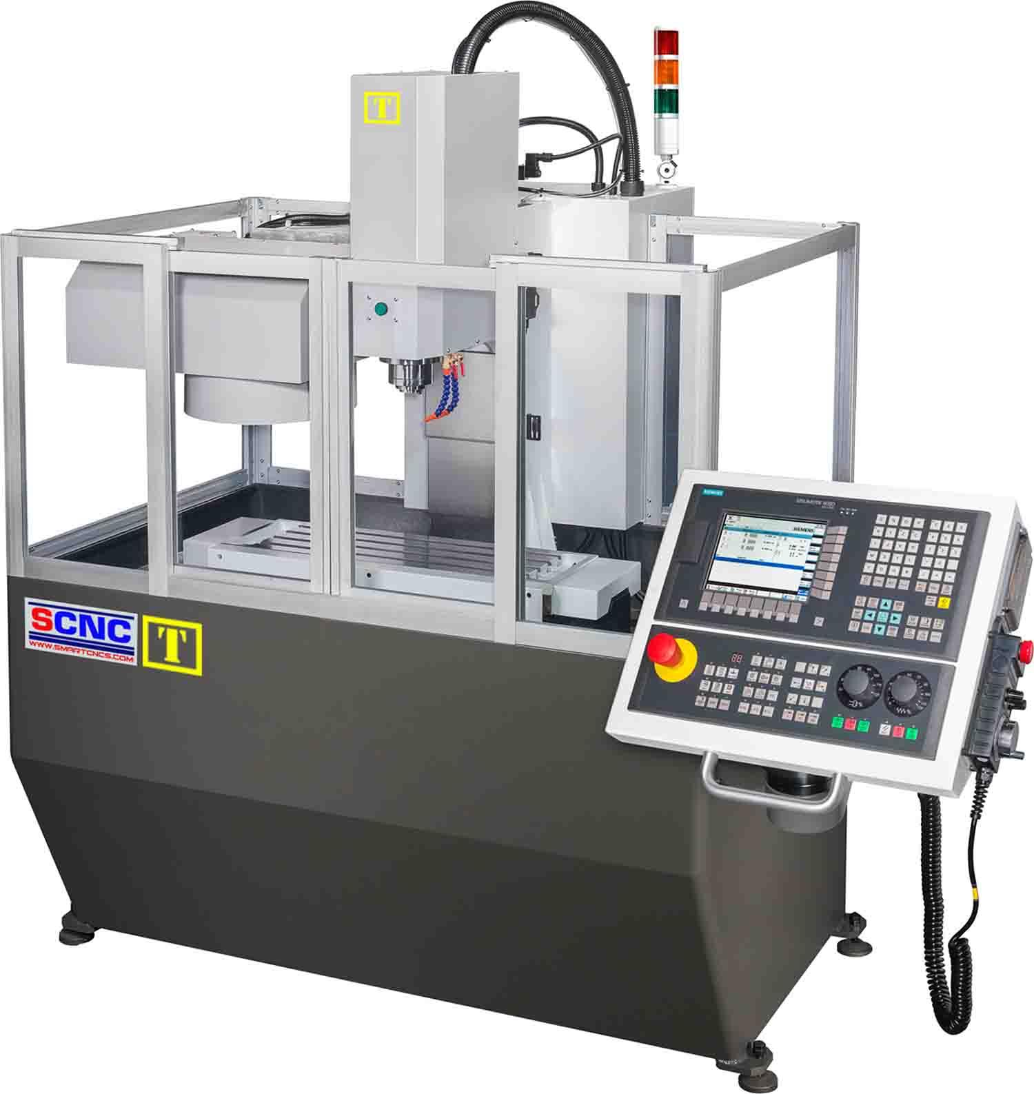 T8 CNC Milling เครื่องกัด CNC มิลลิ่งขนาดกลาง ความแม่นยำสูง จากไต้หวัน,หัวจับ BT30-ER32 ราคา...บาท