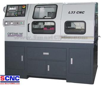 เครื่อง CNC Lathe รุ่น L 33 จาก Optimum-Germany ราคาพิเศษ
