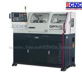 เครื่อง CNC Lathe รุ่น L28 with SIEMENS CNC Controller 808D ขนาดเล็กจาก Optimum-Germany ราคาพิเศษ