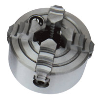10029A ¢100mm 4-jaw chuck with flange