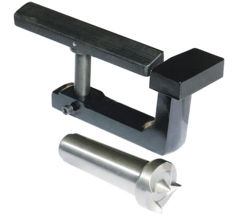 10064 Wood toolrest with center MT3