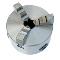10100A ¢100mm 3-jaw chuck whe flange