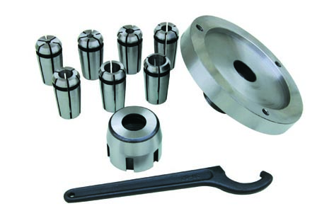 10148 Mill chuck set(metric) chuck dia.4,6,8,10,12,14,16mm