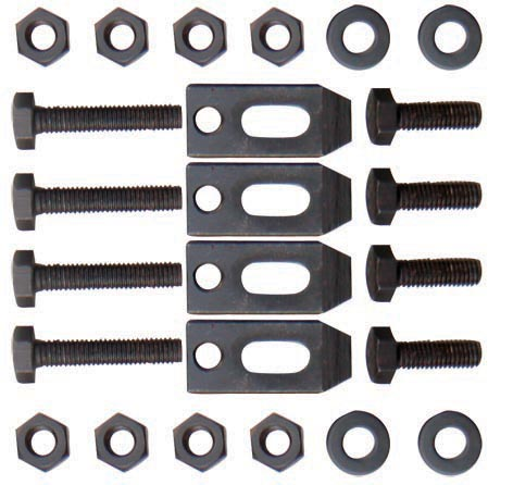 10162A Clamping kit for face plate Bolt size 12mm
