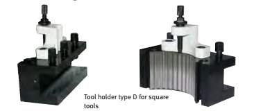 3384312 Spare tool holder 12 x 50 type D for square tools