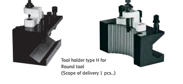 3384322 Spare tool holder seat 30 x 100 type H for round tools