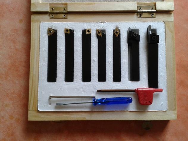 3441511 Lathe tool kit HM 16 mm, 7 pcs