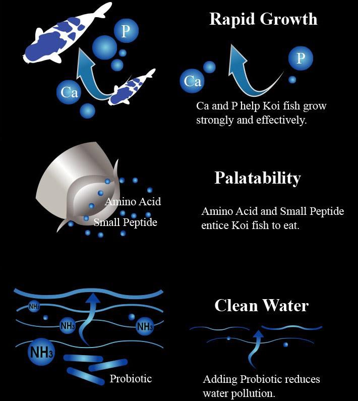 Aqua Master  Growth 1 Kg. S 1