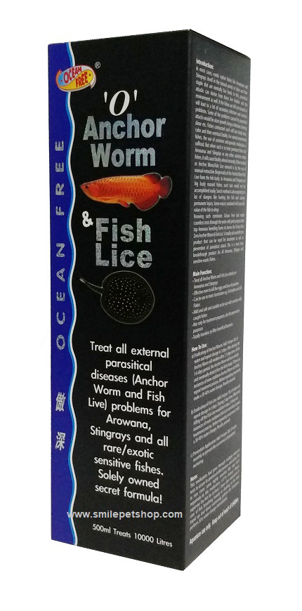'O' Anchor Worm Fish & Lice 500 ml.