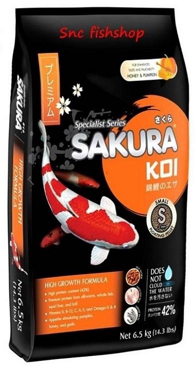 SAKURA KOI High Growth Formula 6.5 Kg. S