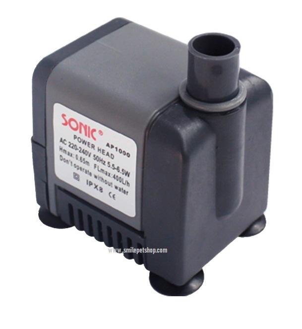 Sonic AP-1000 (ปั๊มขนาดจิ๋ว สำหรับทำหินหมุน น้ำพุ ขนาดเล็ก)