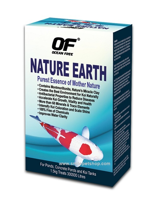 OF Nature Earth For Koi 1.5 kg.