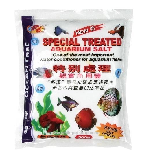 Special Treated Aquarium Salt 500 g.